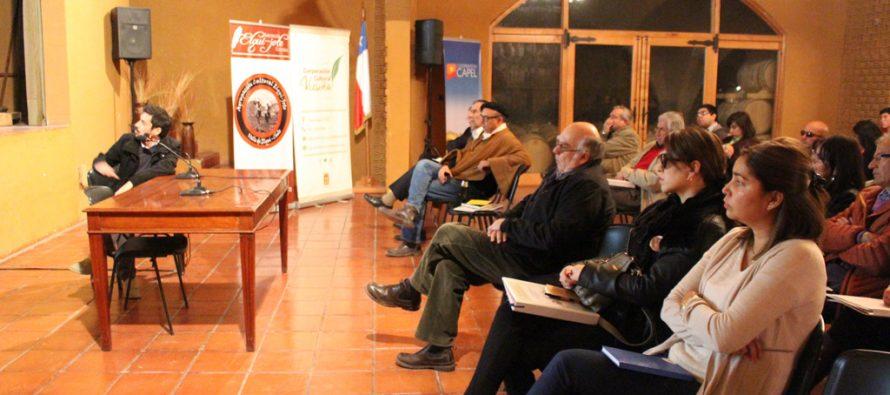 Vicuña: Con el objetivo de valorar la cultura elquina realizan Seminario de Gestión Patrimonial