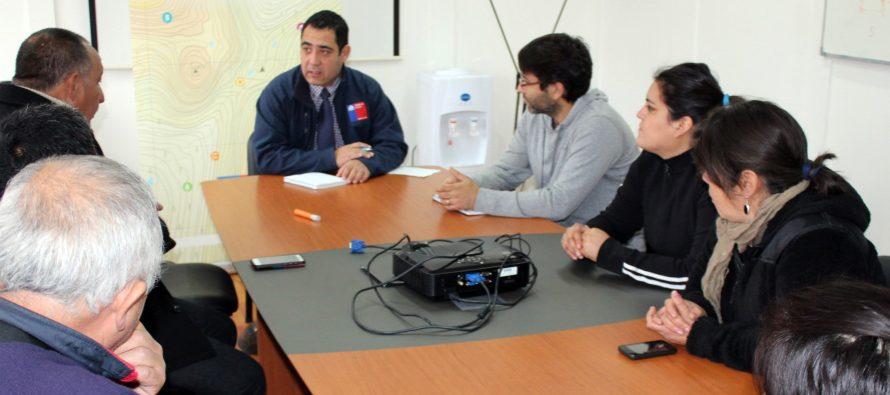 Gobierno gestiona solución a familias de Alfalfares que estaban sin electricidad