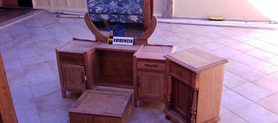 PDI  aclara robo de más de 4 millones de pesos y detiene a su receptador en Vicuña