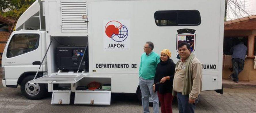 Paihuano cuenta con nueva clínica dental móvil