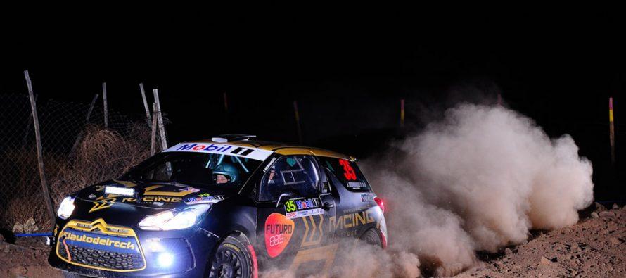 José Miguel Hernández sufrió para ganar con el auto del rock en el RallyMobil de Vicuña