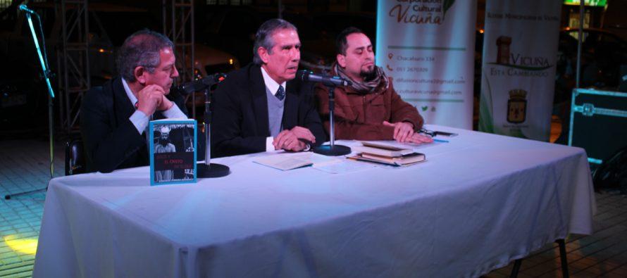 """En feria del  libro """"Jesús y el Cristo de Elqui"""" de escritor vicuñense Edmanuel Ferreira"""