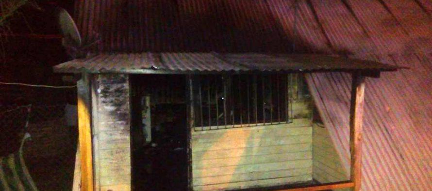 Vivienda de Paihuano fue afectada por incendio