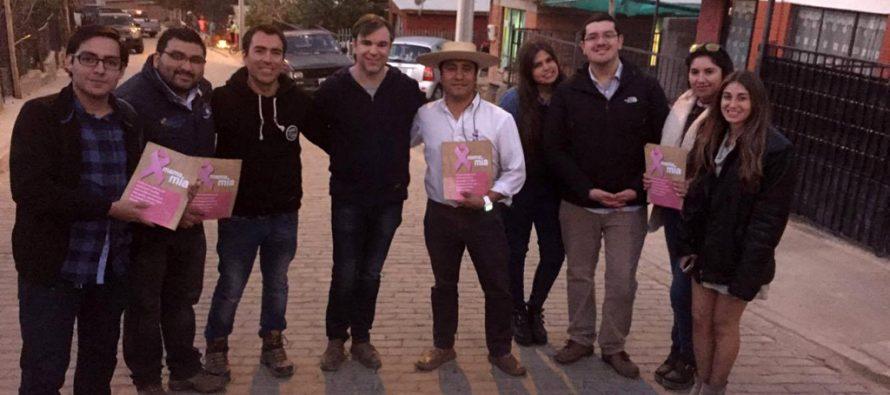 Lanzan campaña contra el cáncer de mamas en Paihuano