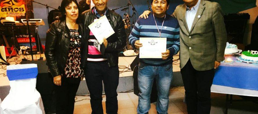 CD Eulogio Cerda de Nueva Talcuna celebra sus 49 años de existencia en emotiva ceremonia