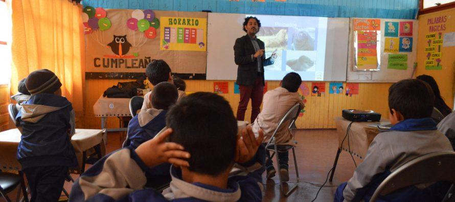 CEAZA participa en primera Feria Científica de la Escuela Ríos de Elqui en Rivadavia