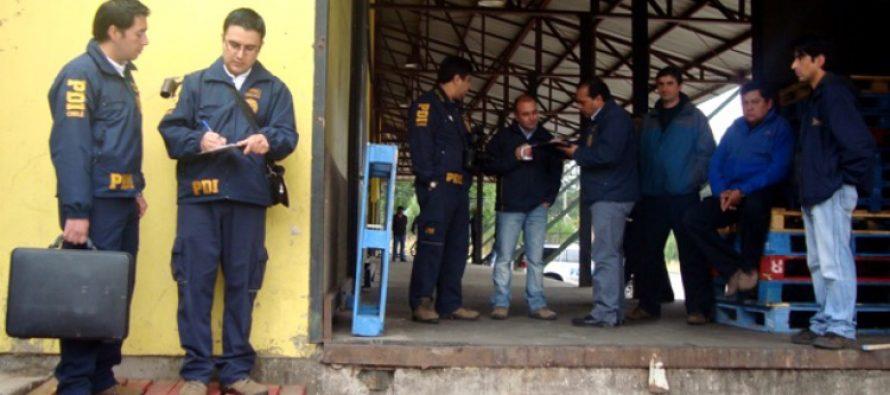 PDI investiga robo de cajas de vinos en la sala de ventas de Viña Falernia