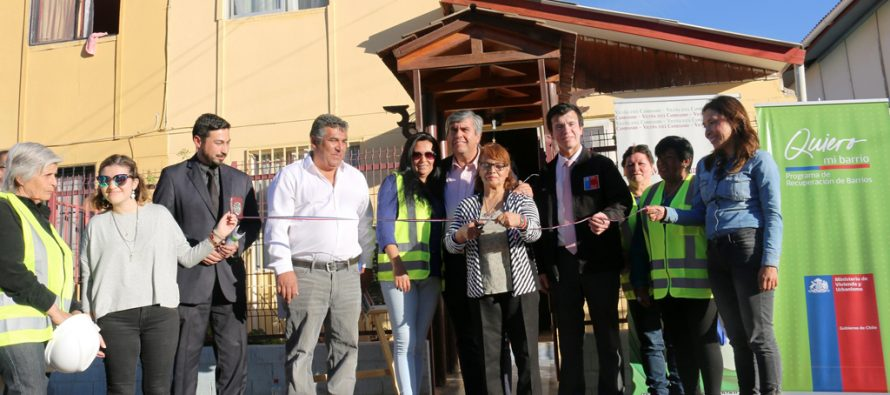 Inauguran mejoramientos de viviendas en Vicuña a través del programa Quiero Mi Barrio