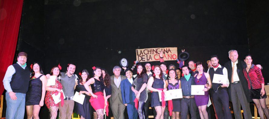 Cueca chora, teatro de niños y guitarra fueron parte de los talleres de la Corporación de Cultura