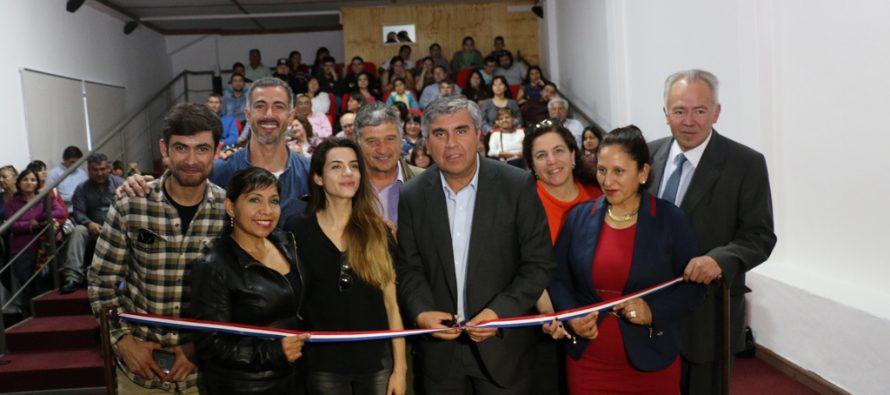 Corporación de Cultura de Vicuña inaugura sala microcine con actividades de FECILS 2016