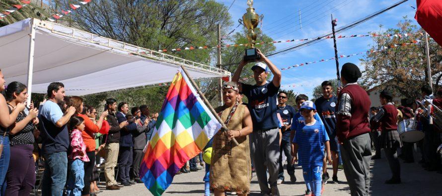 Diaguitas celebró sus 144 años con el orgullo de ser el único Monumento Nacional de la comuna