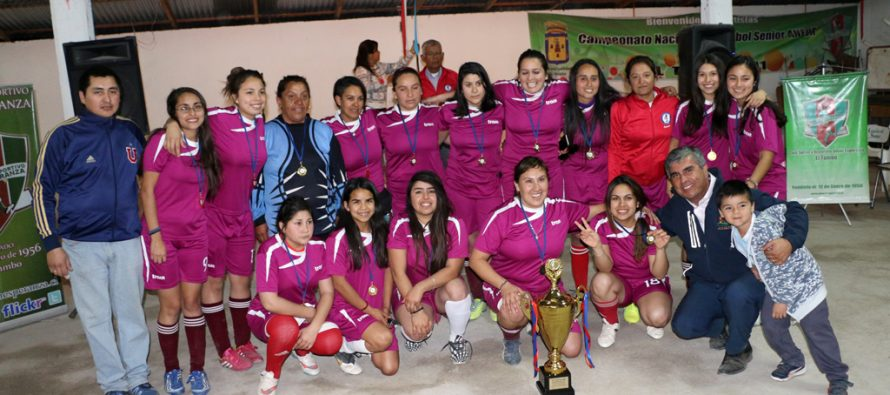 Barrabases se quedó con el primer lugar del Campeonato de Fútbol Femenino de Vicuña