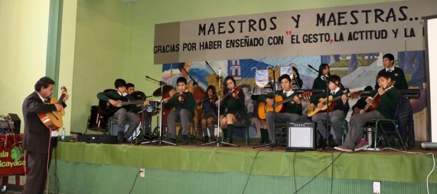 Vicuña celebró el Día de la Educación Pública