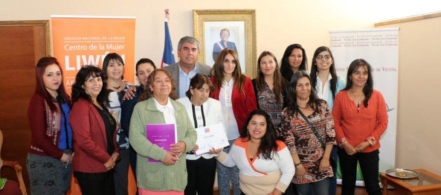 Dirigentes sociales de Vicuña se certifican en prevención de  violencia contra las mujeres