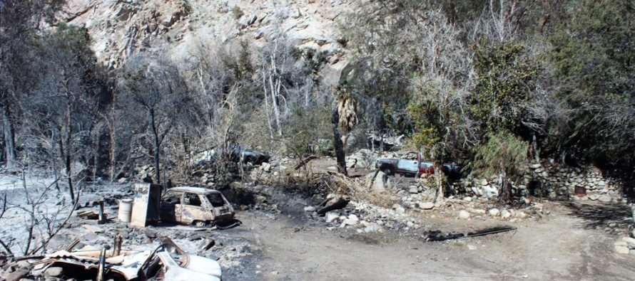 Incendio ocurrido en Fundo La Viñita  sigue en proceso de investigación