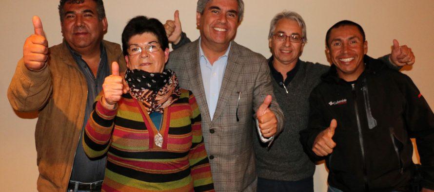 El Partido Progresista presentó a sus candidatos a concejales en Vicuña