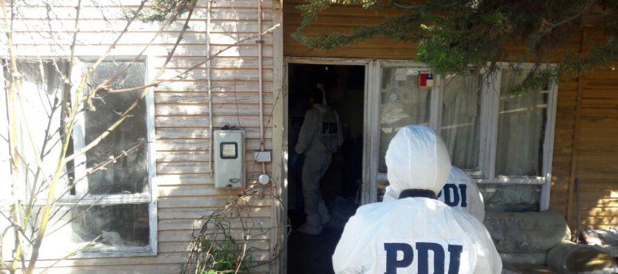 PDI investiga muerte de un hombre  de 65 años al interior de su domicilio en Talcuna