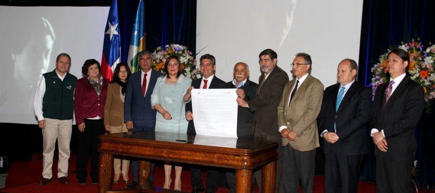 Constituyen red de Ciudades Mistralianas para poner en valor legado de la premio Nobel