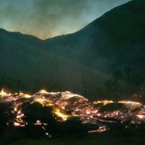 Incendio Quebrada de Paihuano (1)