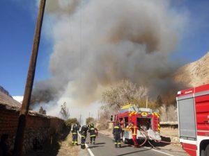 Incendio Quebrada de Paihuano (4)