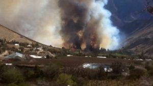 Incendio Quebrada de Paihuano (5)