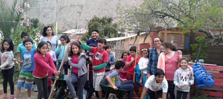 Agrícola Bellavita entrega carretillas, herramientas e implementos a ONG Tierra y Valle de Pisco Elqui