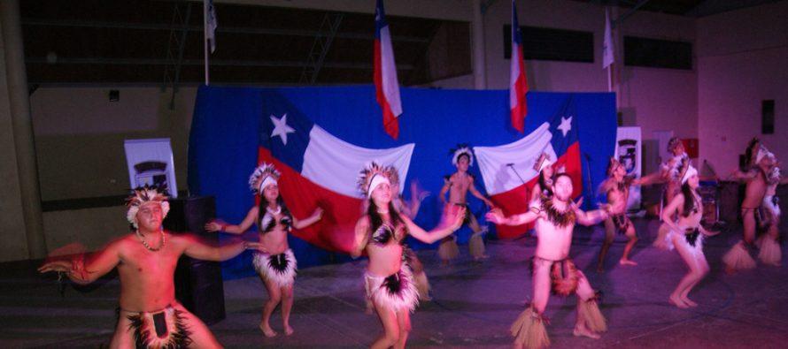 Con éxito se desarrolló el encuentro folclórico  para dar inicio al mes de la patria