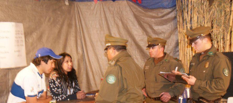 Carabineros realizó exhaustiva fiscalización a fondas y ramadas en Paihuano