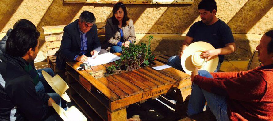 Municipio de Vicuña entrega en comodato indefinido terreno a  Club de Huasos de Diaguitas