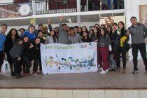 Estudiantes del colegio Leonardo Da Vinci Vicuña fueron protagonistas de programa de arborización