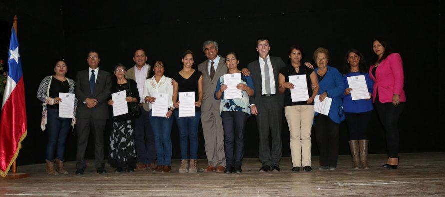 135 familias de Vicuña reciben subsidios para mejorar sus viviendas