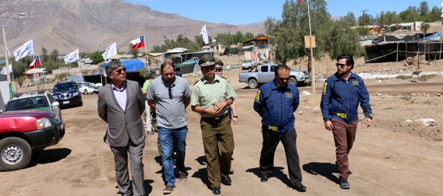 Realizan visita inspectiva a pampilla de San Isidro previo a Fiestas Patrias