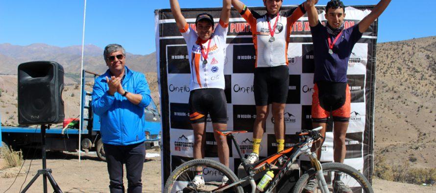 Con gran participación culmina Campeonato Regional de Mountainbike en Vicuña