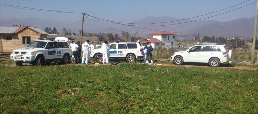 PDI investiga muerte de un hombre de 29  años de edad en el sector de Altovalsol