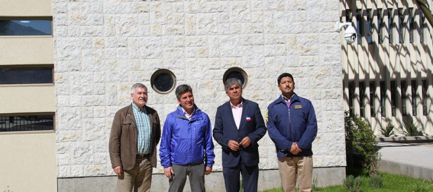 En dos meses estará operativo el nuevo cuartel  de la PDI en Vicuña