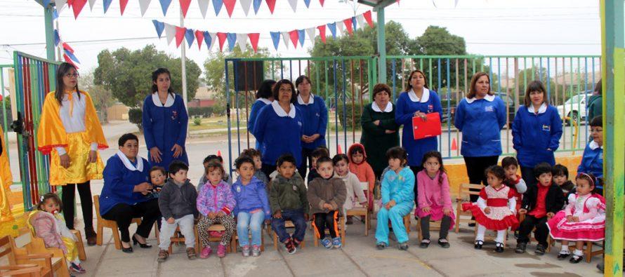 OPD  Vicuña firma documento de Política Comunal de Infancia  en jardín Rayito de Sol