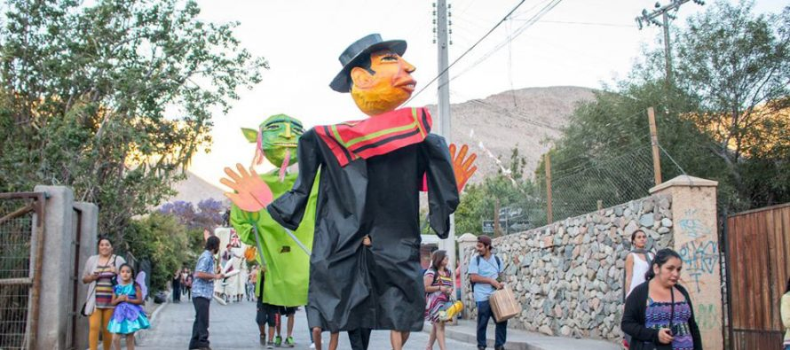Más Cultura en tu Barrio vistió de fiesta al sector de Chanchoquí en Paihuano