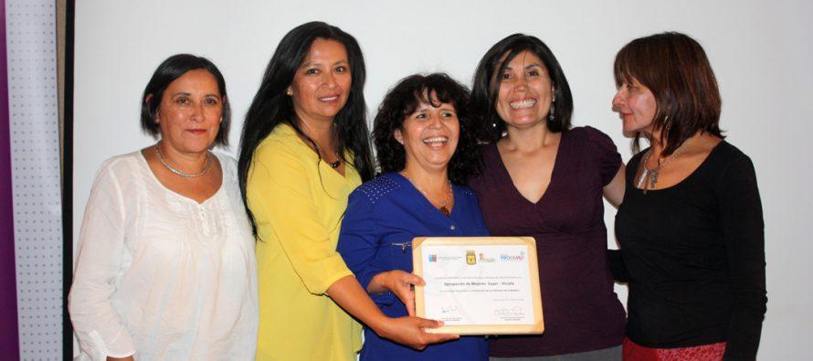 Mujeres de Vicuña se certifican tras participar en programas de Fundación PRODEMU