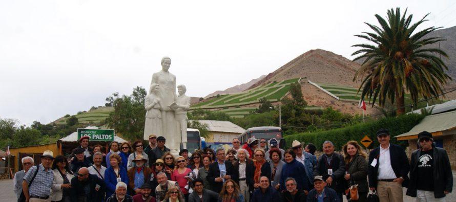 Grupo de escritores extranjeros visitaron la comuna de Paihuano