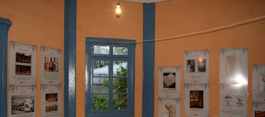 La historia del pisco es reflejada en exposición desarrollada en Paihuano