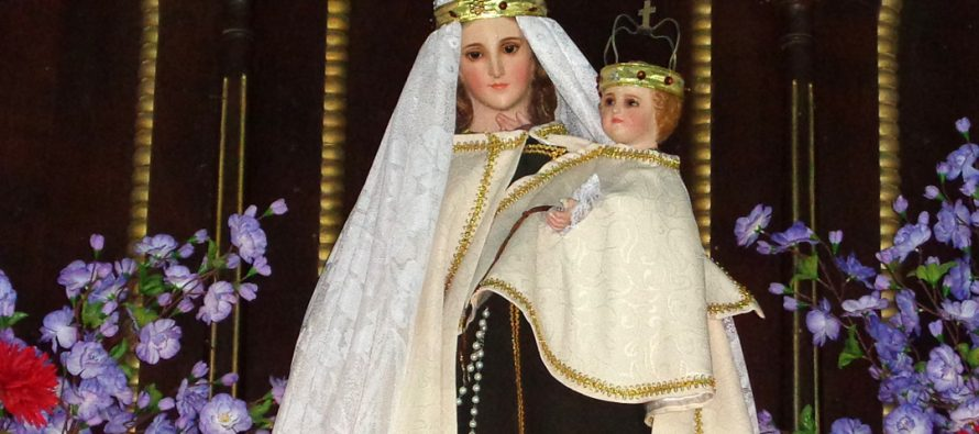Alcohuaz celebra tradicional Fiesta de la Virgen del Carmen este domingo
