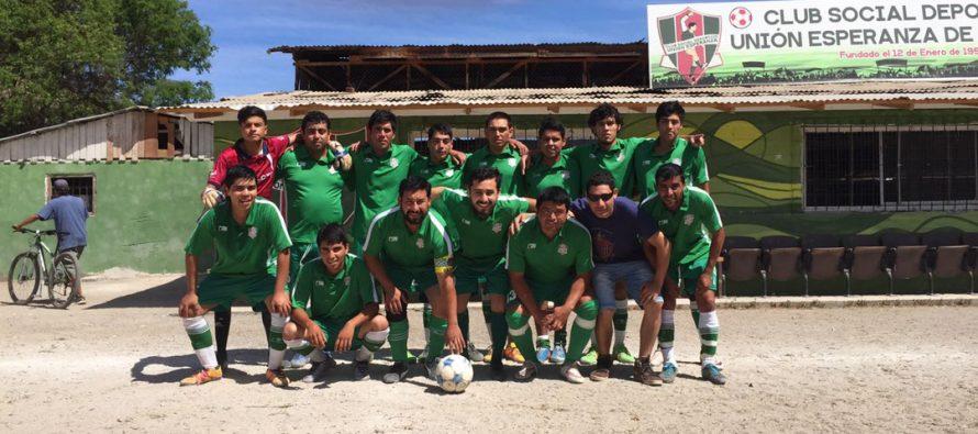 Este domingo comienza Campeonato de Fútbol Rural de Primavera en El Tambo
