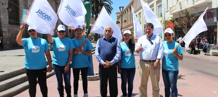"""Roberto Jacob: """"Obteniendo una gran votación es la única forma de consolidar nuestro proyecto en La Serena"""""""