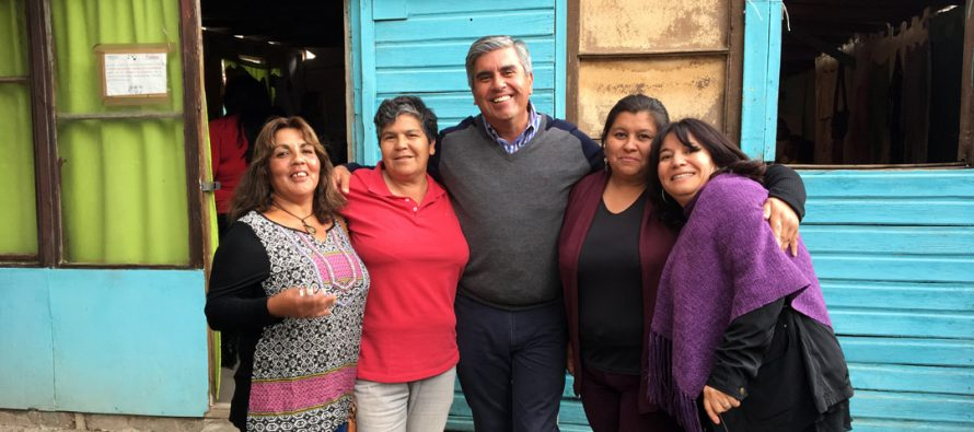 Centro de Madres Estrella Solitaria de Rivadavia mejoró su lugar de reunión con subsidio municipal