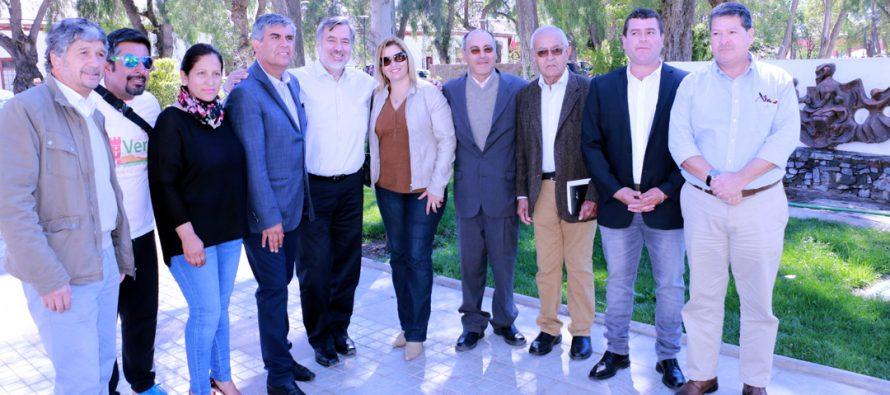 En visita en Vicuña el senador Alejandro Guillier dio su total respaldo a candidatos de la Nueva Mayoría