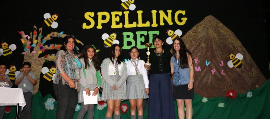 """Escuela de Peralillo fue la ganadora del """"Spelling Bee"""" de la Fundación Educacional Oportunidad"""