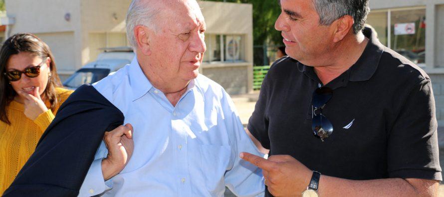 """""""No da lo mismo quien sea el alcalde"""" dijo el ex Presidente Ricardo Lagos en visita a Vicuña respaldado así a Rafael Vera"""