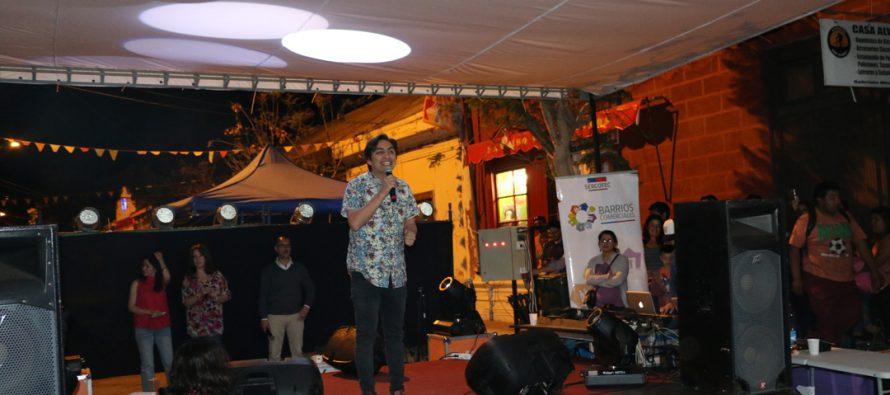 El stand up comedy de Sergio Freire hizo reír a todos en Vicuña
