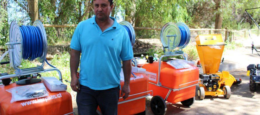 Usuarios Prodesal/Padis de Vicuña obtuvieron equipamiento para mejorar sus producciones