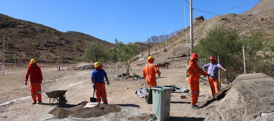 Comienzan obras para remodelar Pampilla de San Isidro en Vicuña